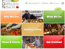 Food Distribution Network Website