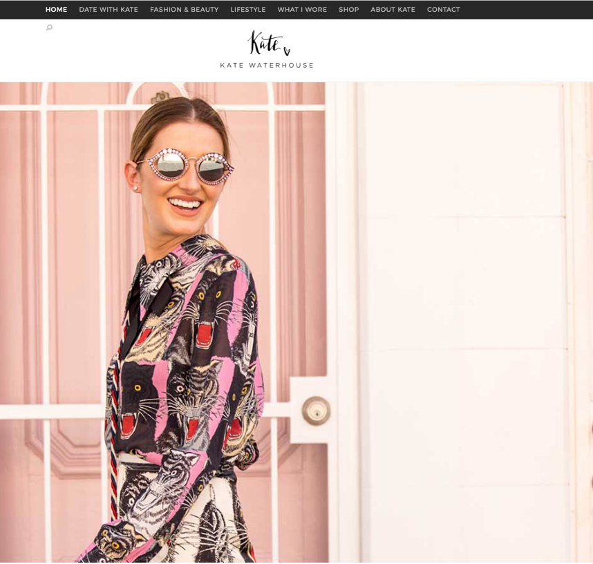 Kate Waterhouse Website